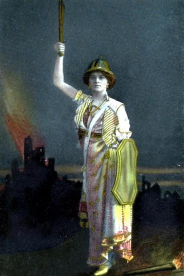 Zena Dare (1887-197), English Singer and Actress, 1908--Giclee Print