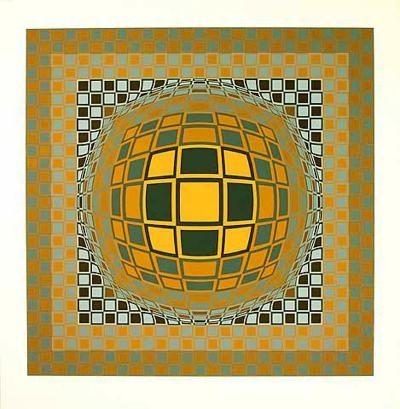 Zeng-Victor Vasarely-Limited Edition