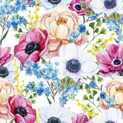 Anemones Pattern by Zenina