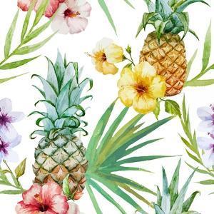 Tropical Pattern by Zenina