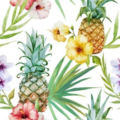 Tropical Pattern by Zenina