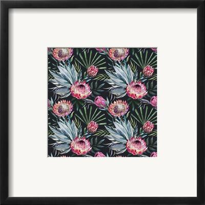 Tropical Protea Pattern by Zenina