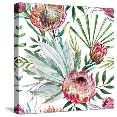 Tropical Protea Pattern