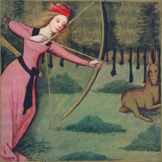 'Zenobie - Reine De Palmyre', 1403, (1939)-Master of Berry's Cleres Femmes-Giclee Print
