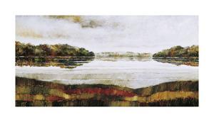 Haliburton Lake by Zenon Burdy