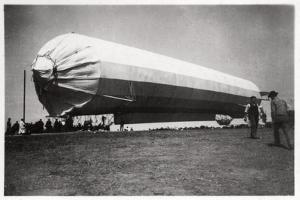 Zeppelin LZ 5 at Goeppingen, Germany, 1909