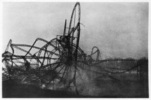 Zeppelin LZ4 after the Echterdingen Disaster, Germany, 1908