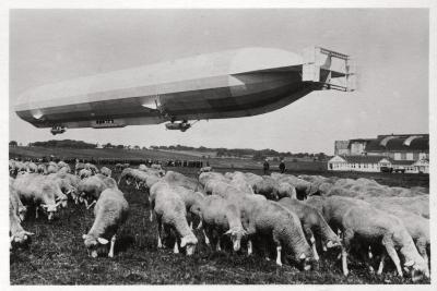 Zeppelin LZ8 Deutschland II, Schwaben, Germany, 1911--Giclee Print