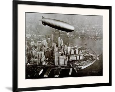 Zeppelin Over New York