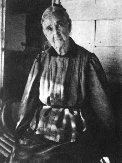 Zerelda Samuel, Mother of American Outlaws Jesse and Frank James, C1885-1915--Giclee Print