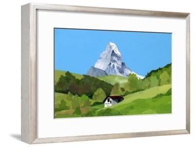 Zermatt, Switzerland,2015-Hiroyuki Izutsu-Framed Giclee Print