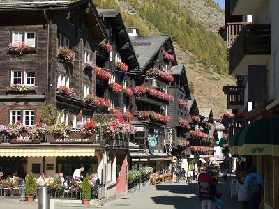Zermatt, Valais, Swiss Alps, Switzerland, Europe-Angelo Cavalli-Photographic Print