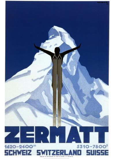 Zermatt-Pierre Kramer-Art Print