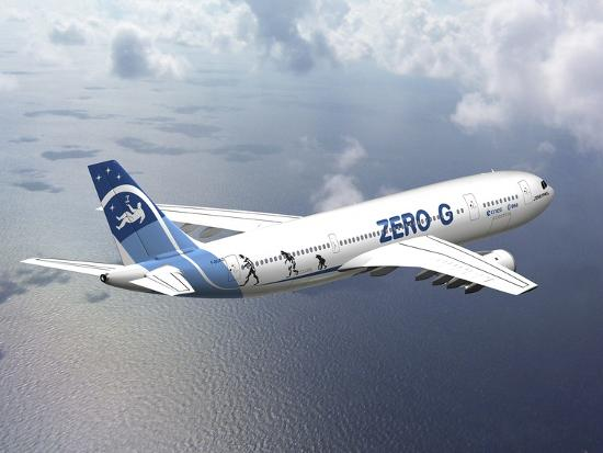 Zero G Airbus Aircraft Artwork Photographic Print David Ducros Art Com