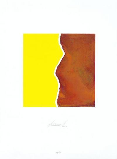 Zerrissen Gelb-Juergen Freund-Limited Edition
