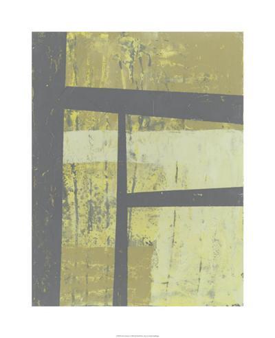Zest Abstract I-Jennifer Goldberger-Limited Edition
