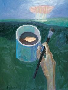 My Poem in Coffee Break by Zhang Yong Xu
