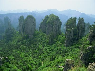 Zhangjiajie Forest Park in Wulingyuan Scenic Area in Hunan Province, China-Robert Francis-Photographic Print