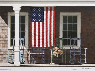 American Flag by Zhen-Huan Lu
