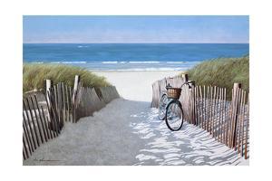 Beach Bike 2 by Zhen-Huan Lu