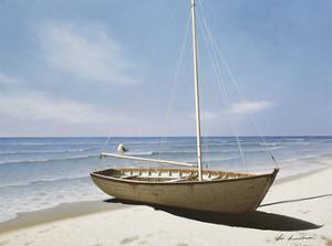 Forgotten Sailboat by Zhen-Huan Lu