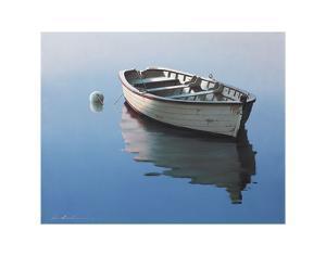 Lonely Boat by Zhen-Huan Lu