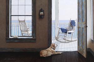 Look over the Sea by Zhen-Huan Lu