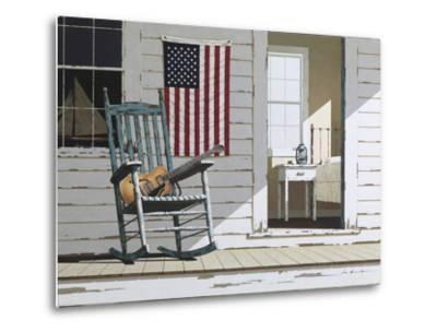 Rocking Chair with Guitar