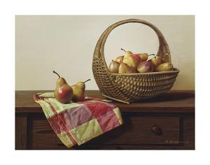 Still Life with Pears by Zhen-Huan Lu