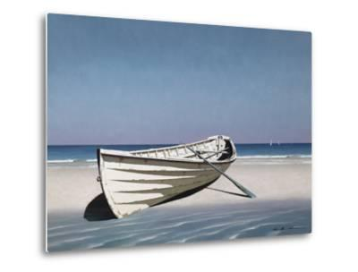 White Boat on Beach
