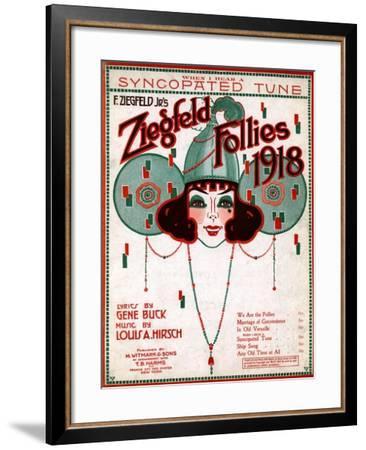 Zig 010-Vintage Apple Collection-Framed Giclee Print