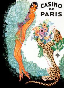 Josephine Baker: Casino De Paris by Zig (Louis Gaudin)