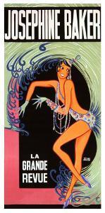 Josephine Baker by Zig (Louis Gaudin)