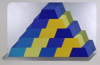 Ziggurat 6-Joe Tilson-Limited Edition