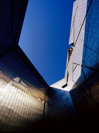 Zinc-Clad Walls of Jewish Museum in Kreutzberg, Berlin, Germany-Krzysztof Dydynski-Photographic Print
