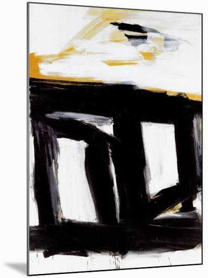 Zinc Doors-Franz Kline-Mounted Print
