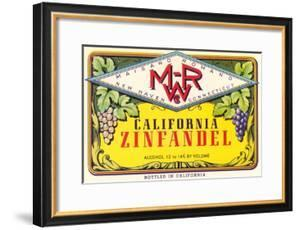 Zinfandel Wine Label
