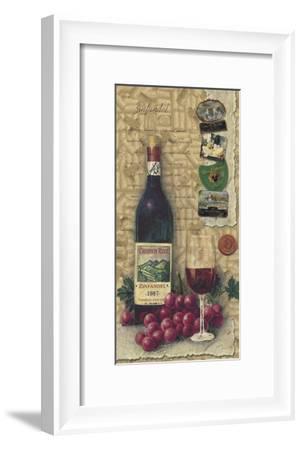 Zinfandel--Framed Art Print