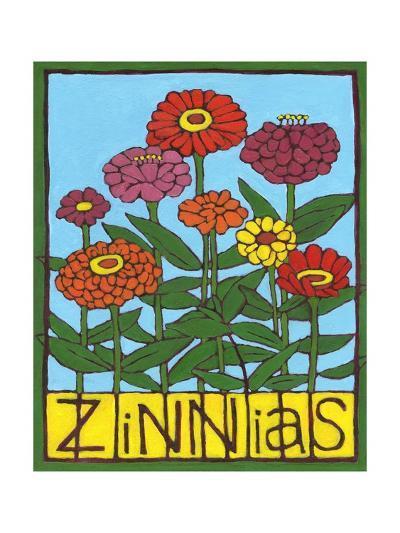 Zinnias, 2004-Megan Moore-Giclee Print