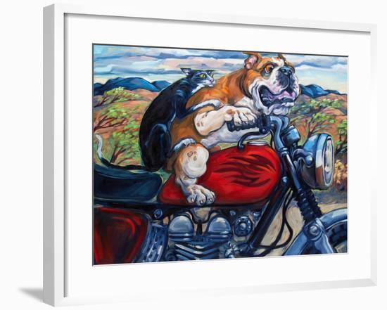Zippity Do Da-Connie R. Townsend-Framed Art Print