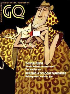 GQ Cover - November 1970 by Ziraldo Alves Pinto