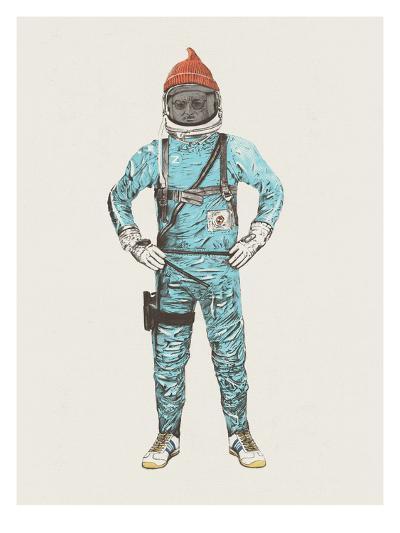 Zissou In Space-Florent Bodart-Art Print