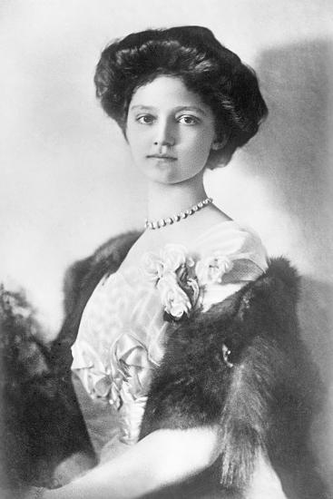Zita, H.R.H. Empress of Austria, Princess of Bourbon and Parma, 1914--Photographic Print