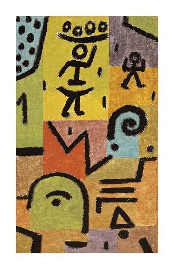 Zitronen-Paul Klee-Premium Giclee Print
