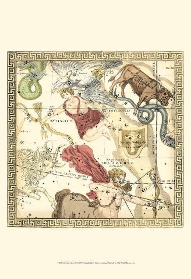 Zodiac Chart II--Art Print