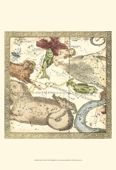 Zodiac Chart III--Art Print