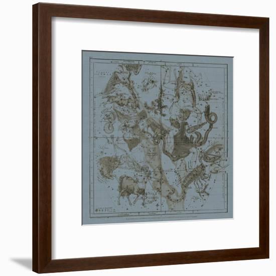 Zodiac IV-W.G. Evans-Framed Art Print