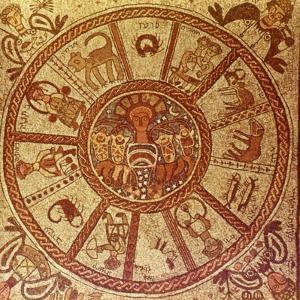 Zodiac, Roman Mosaic