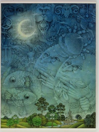 Zodiac Sky-Wayne Anderson-Giclee Print