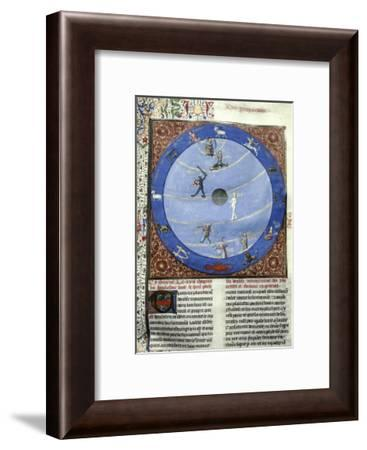 Zodiac Symbols--Framed Giclee Print